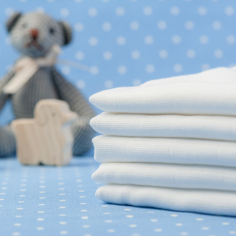 How to fold nappies